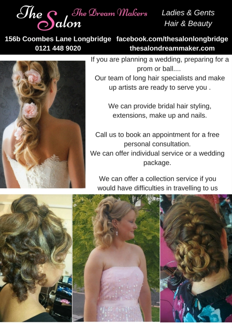 salon weddings poster